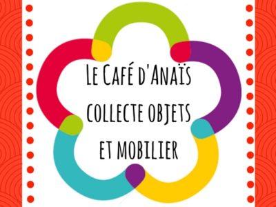 Le Café d'Anaïs collecte des objets et du mobilier : tous à vos greniers !
