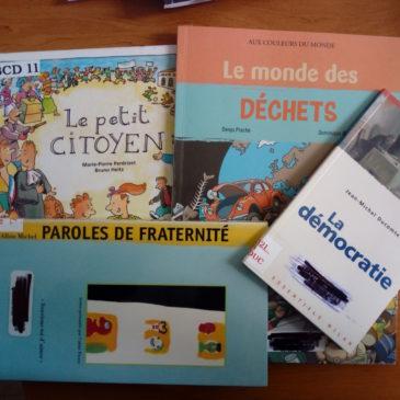 Récupération de livres : MERCI au Carré d'Art !