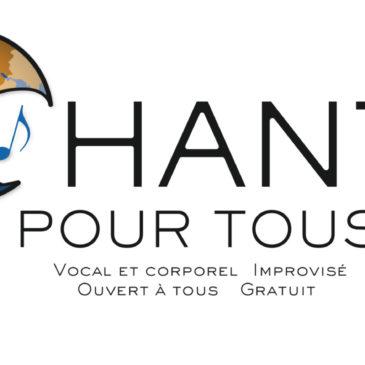 Atelier Chant pour Tous – Vendredi 22 Mars 19h