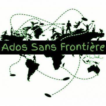 Soirées Parrainages ADOS SANS FRONTIERE – Tous les deuxièmes mardis du Mois (prochaine date mardi 08/09)