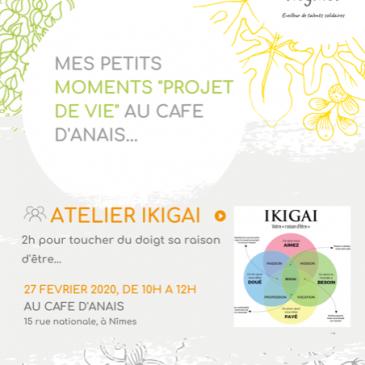Atelier IKIGAI, permanence conseil projets professionnels – Mercredi 9 Septembre