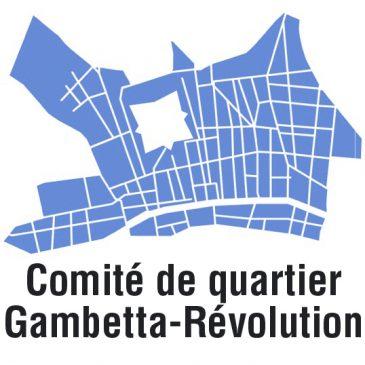 Comité de quartier Gambetta Révolution – chaque lundis