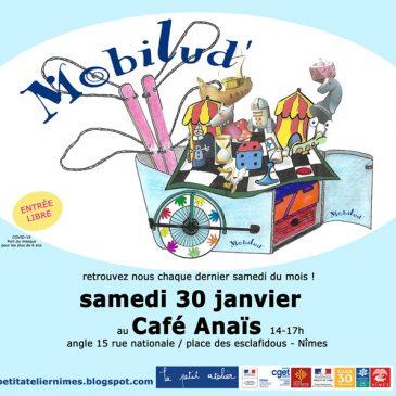 Mobilud' (Café des Familles) – Tous les derniers samedis du mois